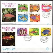 Suriname - 1977 Fish - Mi. 771-78 clean FDC's