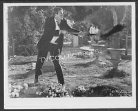 8x10 Photo~ BABY THE RAIN MUST FALL ~1965 ~Steve McQueen ~Digs grave w shovel