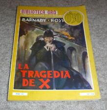 Biblioteca Oro (Spanish Pulp Mystery) Magazine No. 104 - box 11