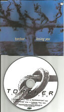 TORCHER Losing you 4TRX  2 UNRELEASED TRX & RADIO TRK CD Single USA seller 1992