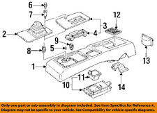 Chevrolet GM OEM 91-96 Beretta Front Center Console-Gear Indicator 10069580