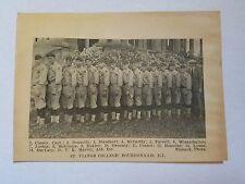 St. Viator College Bourbonnais Illinois 1922 Baseball Team Picture