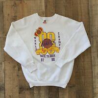 Vintage Los Angeles Lakers NBA 87-88 Back To Back Champions Men's Sweatshirt