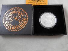 Garfield Christmas Coin 1988  Silver Towne #2747 COA 1oz .999 Silver