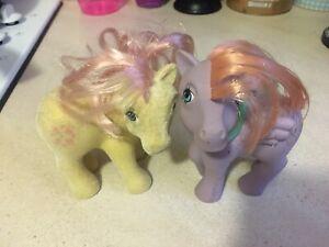 My Little Pony G1 Sundance And Tickles - Bait ponies