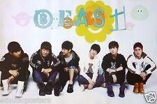 """B2ST """"GROUP SITTING ON FLOOR"""" POSTER - K-Pop Music, Korean Boy Band"""