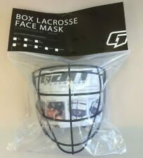 New Gait G7 Senior Box Lacrosse Face Mask indoor cage BOXFM helmet sr black lax