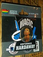 NBA ANFERNEE HARDAWAY ORLANDO MAGIC COLLECTIBLE IMPRINTED PRODUCTS PIN RARE