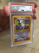 PSA 7 NM Mew 9 Promo Holo Black Star Pokemon Trading Card