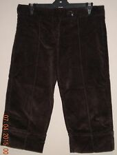 Best N Less Jnr Zone Girl's Brown 3/4 Cord Pants. Size - 16.