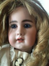 "Rare Antique 939 German Bisque Head Simon & Halbig  Doll 17"" circa 1889"