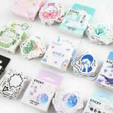 46PCS Cute Stickers Kawaii Stationery Scrapbooking Diary Label Sticker DIY Decor