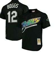 Authentic Mitchell & Ness Tampa Bay Devil Rays #12 Baseball Jersey New Mens $90