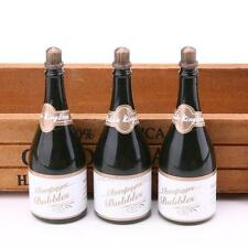 24Pcs Empty Bubble Soap Champagne Bottles Wedding Xmas Birthday Party Deco hv2n