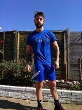 Mens Adidas T Shirt Size M Blue