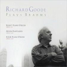 Richard Goode - Brahms Piano Pieces (NEW CD)