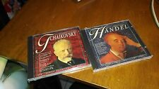 TWO BRAND NEW MASTERPIECE COLLECTION CLASSICAL MUSIC CDS HANDEL TCHAIKOVSKY