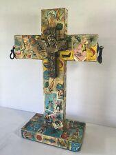 Day Of The Dead Cross Loteria Mexico Handmade