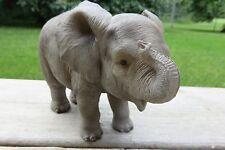 Elephant Figurine African Jungle Animals Resin Statue New Ornament Elephants New