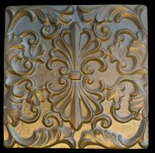 Elegant Decorative Kitchen Backsplash Tile in Bronze finish Wall sculpture