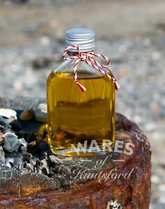 Small Mini Glass Flask Bottles, 50ml Double Shot, Wedding Favour, FSA Approved