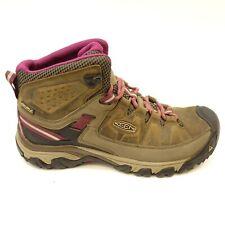Keen Womens Gypsum II Mid Leather Waterproof Trail Hiking Shoes Boots Sz 9.5