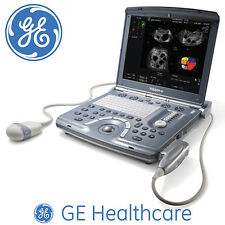 Portable GE Voluson E - Ultrasound Scanner Machine System +3D 4D Scanning Probe
