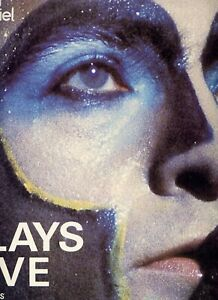 PETER GABRIEL (Genesis) -  Plays live - 2 LP (Double 33 tours) -