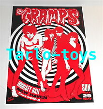 CRAMPS - New Haven, Us - 29 may 1977 -  concert poster