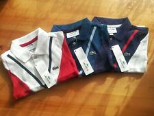 Brand New LACOSTE Kids Collar Neck T-Shirts in 3 colors