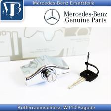 Original Mercedes-Benz W113 Pagode 250SL Lock, Druckschloss Bootlid