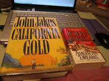 JOHN JAKES – CALIFORNIA GOLD/AMERICAN DREAMS
