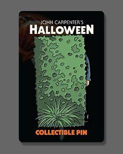 Fright-Rags Halloween Michael Myers Hedge Deluxe Sliding Motion Enamel Pin