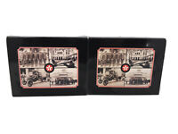 THE SPIRIT OF TEXACO 48 VINTAGE PHOTO REPRINTS ON POSTCARDS 2 Sets All Different