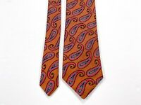 Ted Baker Paisley Silk Men's Necktie Neck Tie Multi-Color