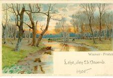 Wien, Wiener Prater, Künstlerkarte, 1905