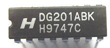 DG201ABK Harris Analog Switch Quad SPST 16-Pin CDIP IC