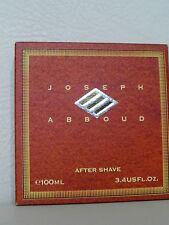 JOSEPH ABBOUD after Shave Aftershave 100ML Splash Original