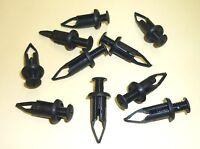TOYOTA HILUX LANDCRUISER MTX LN85 SMALL SCREW HEAD PUSH CLIP - set of 10