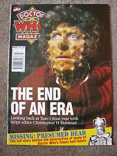 'Doctor Who Magazine' - #257 - Oct 1997 - Marvel Comics