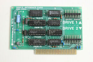 APPLE 650-X104 DISK ][ INTERFACE CARD ADAPTER 820-0006-02 WITH WARRANTY
