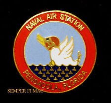 NAVY AIR STATION PENSACOLA NAS HAT PIN UP DUCK PILOT GRADUATION PRESENT GIFT WOW