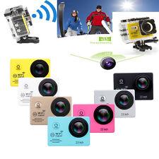 "SJ7000 2"" 1080P HD WIFI Action Camera Waterproof Sports DV Pro Camcorder CAM UK"