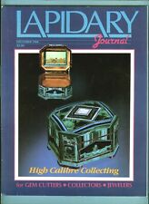 Lapidary Journal Magazine, Dec 1988, Texas Field Trip, Museum Idar-Oberstein.