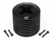 HPI Racing - Aluminum Heatsink Head, Black, (F3.5), Nitro Star