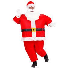 Weihnachtsmannkostüm aufblasbar mit Gebläse Riesen Nikolauskostüm 50-56 Santa