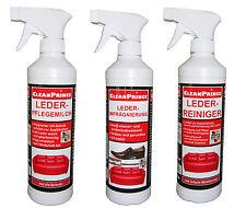 x 3 500 ml conjunto para Cuidado Limpiador de cuero impregnación