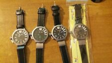 orologio Jay Baxter cifre tridimensionali  -bracciale pelle -