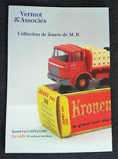 Catalogue 70 pages vente enchères VERMOT Dinky 6 avril 2019 PARIS Drouot