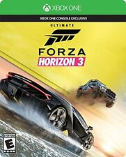 Forza Horizon 3 - Ultimate Edition - Xbox One (Brand New, Factory Sealed)